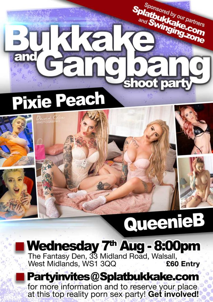 7th August Gangbang with Pixie Peach and QueenieB